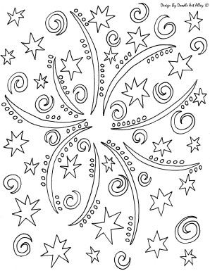 Amyfireworks Jpg Star Coloring Pages Coloring Pages Coloring Book Pages