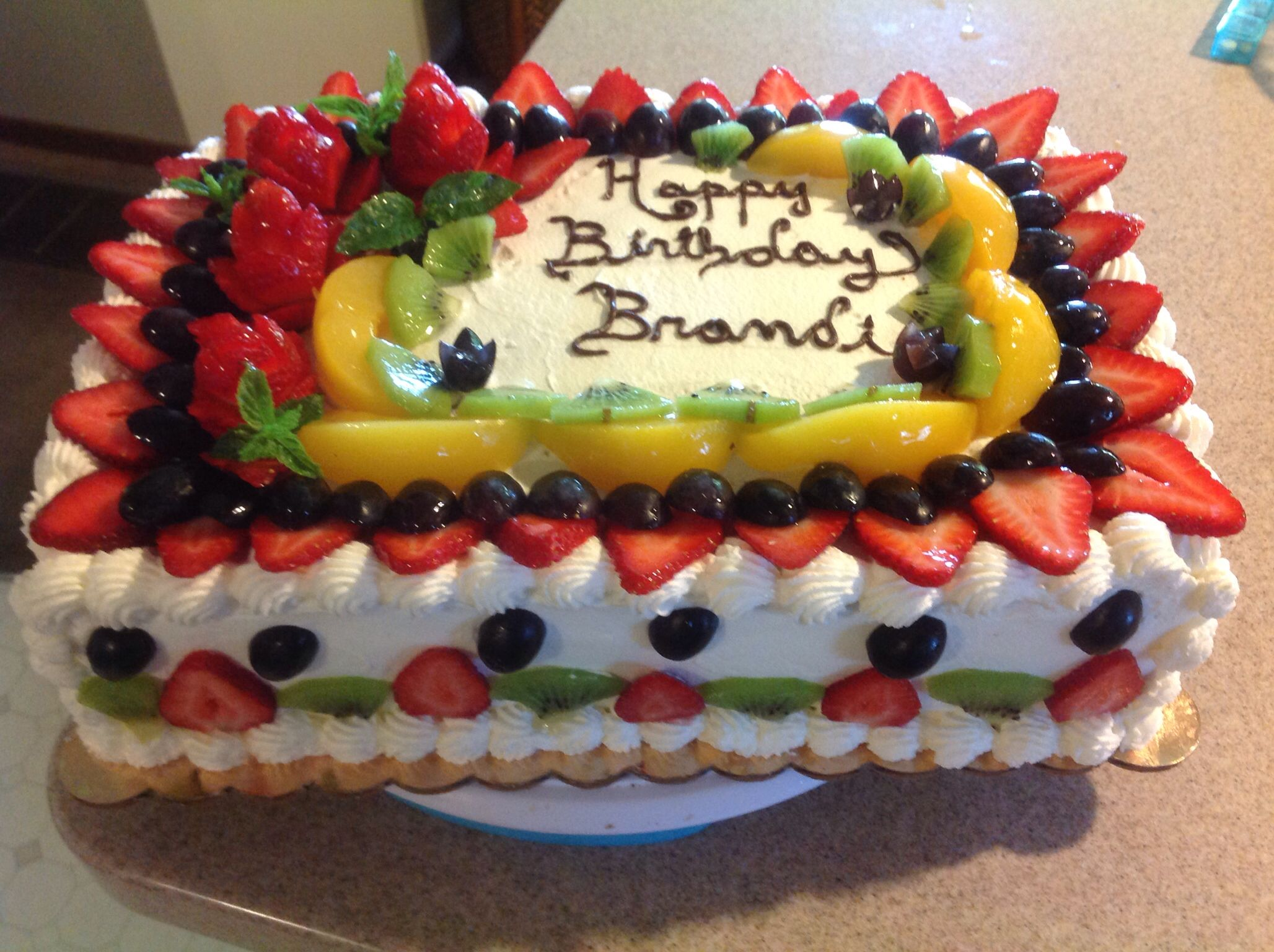 Pastel De 3 Leches Fruit Topped Cake Fresh Fruit Cake Fruity Cake