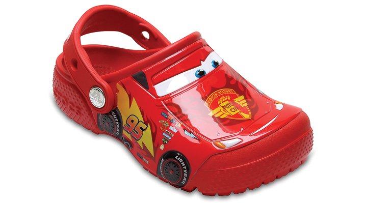 Crocs Kids Boys and Girls Lightning McQueen Light Up Clog
