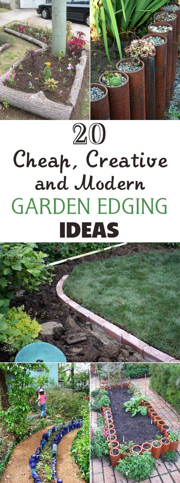 20 Cheap Creative And Modern Garden Edging Ideas Garden 400 x 300