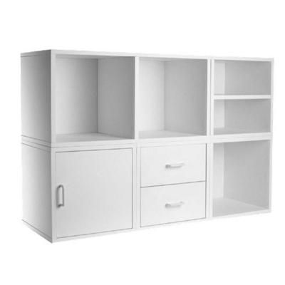 5-in-1 White Modular Storage System-340001 at The Home Depot