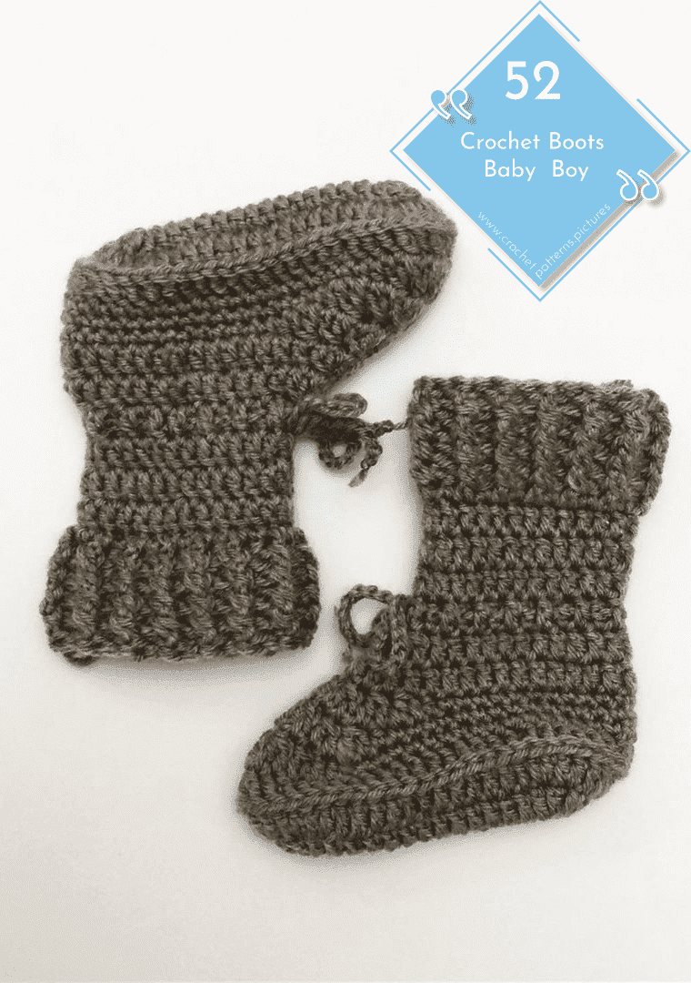 Photo of 52 Crochet Boots With Modern Patterns For Baby Boys. Advice Model: 1