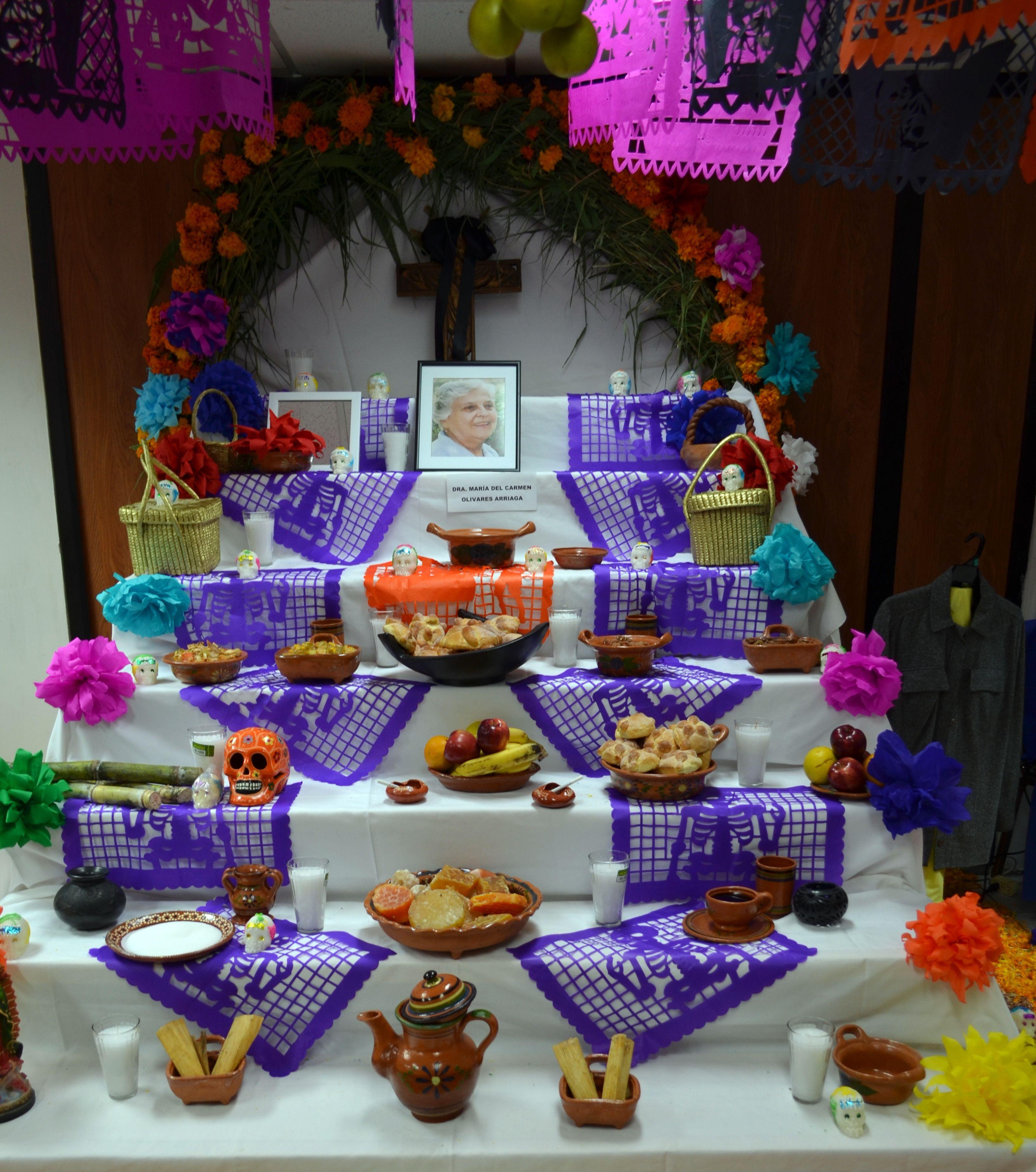 Con Altares De Muertos Fomenta La Set Las Tradiciones Mexicanas