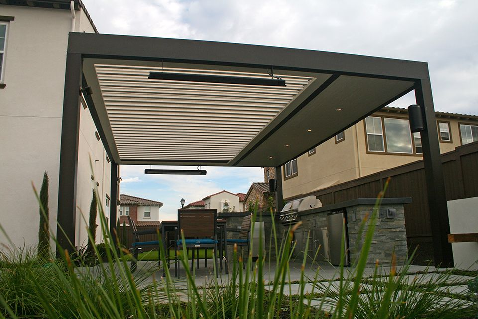 Superb Louver Patio Cover | Apollo Opening Roof System