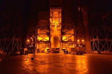 Orion Spacecraft Ready for Mating