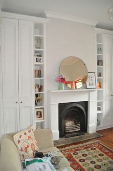 If We Put Cupboards Beside Bedroom Fireplace This Idea Of The