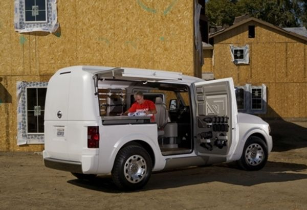 Nissan Nv2500 Concept Debuts At The 2009 Work Truck Show Autoevolution
