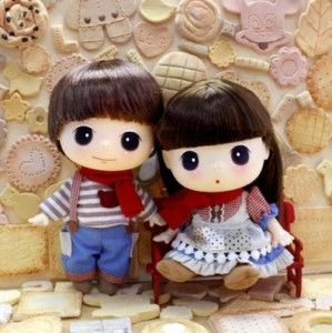 Lovely Cute Collectible Doll 18cm Winter Couple DDUNG | eBay