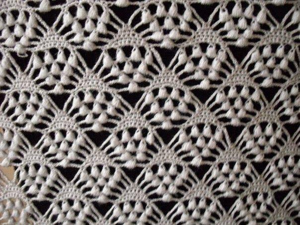 Patrones crochet de magnífico chal | costura | Pinterest | Chal ...