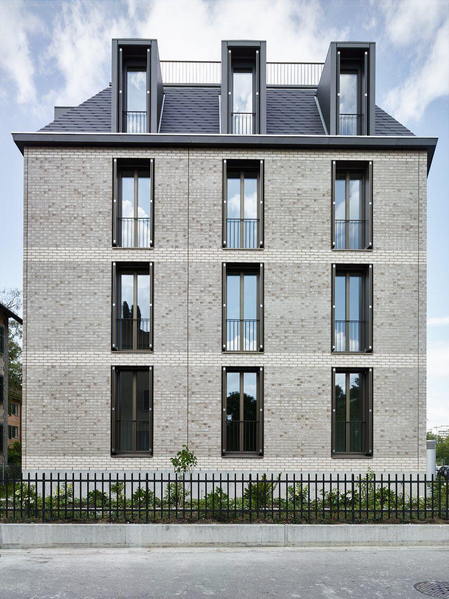 Mehrfamilienhaus Bahnstrasse Winterthur Dahinden Heim Partner Architekten