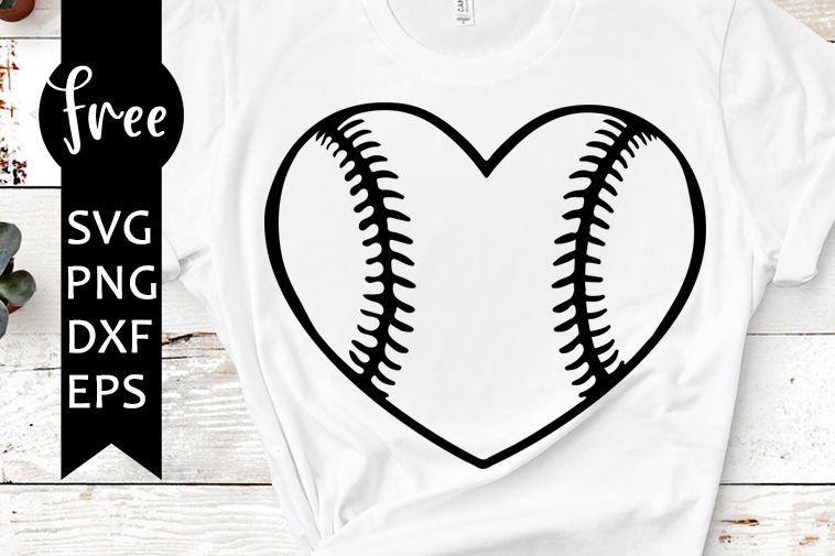 Download Baseball heart svg free, sport svg, baseball svg, instant ...