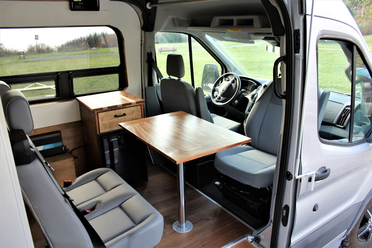 Take A Look At Our Latest Completed Ford Transit Van Conversion To Read More About