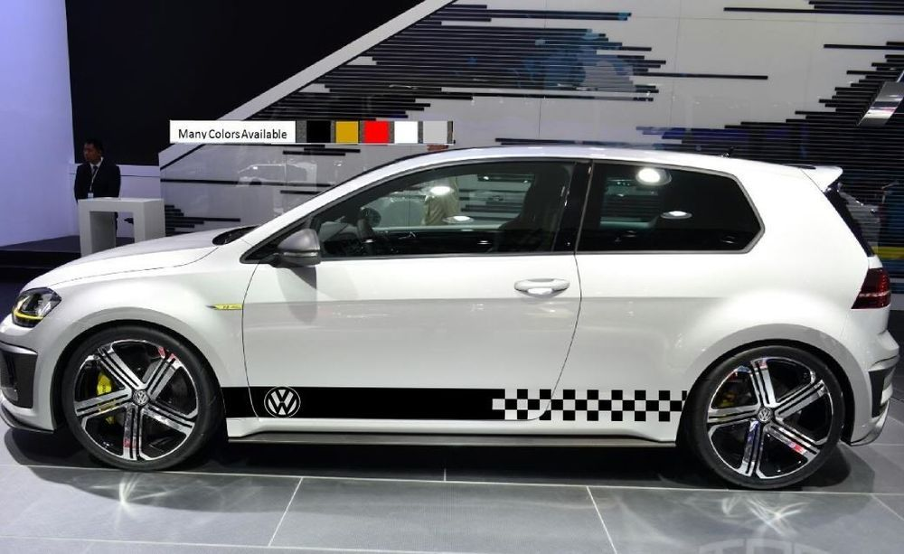 Stickers Decal For Volkswagen Vw Golf Door Kit Sport Cupe Mk2 Mk3 Mk5 Mk4 Stribe Ultimateprocy Tuning Coche Autos Coches