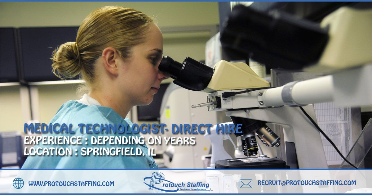 Medical Technologist Direct Hire Continuing education