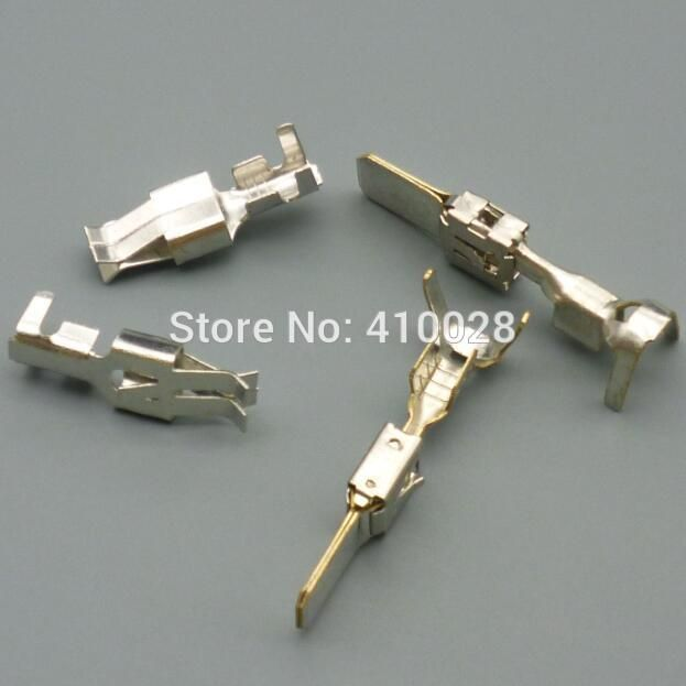 72e870cddba5bedc86b33d4de131b39d 200pair per lot 6 3 car fuse male female holder terminal How to Crimp Clamps at honlapkeszites.co