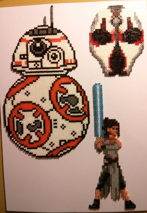 Darth Vader S Tie Advanced Perler Pixel Pattern Bugelperlen