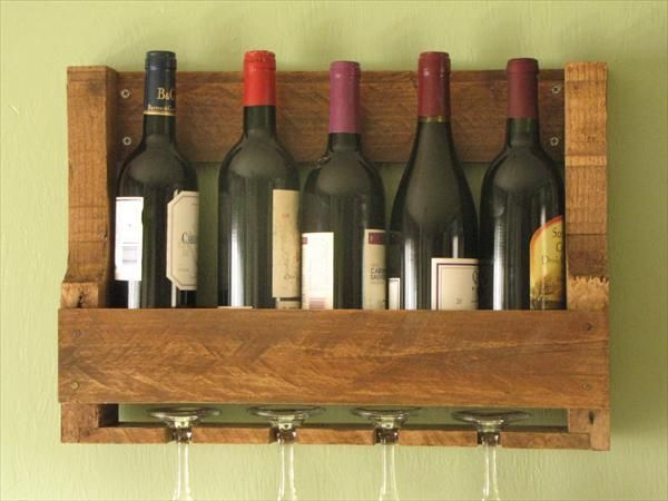 shelf bottles pallet - Google Search