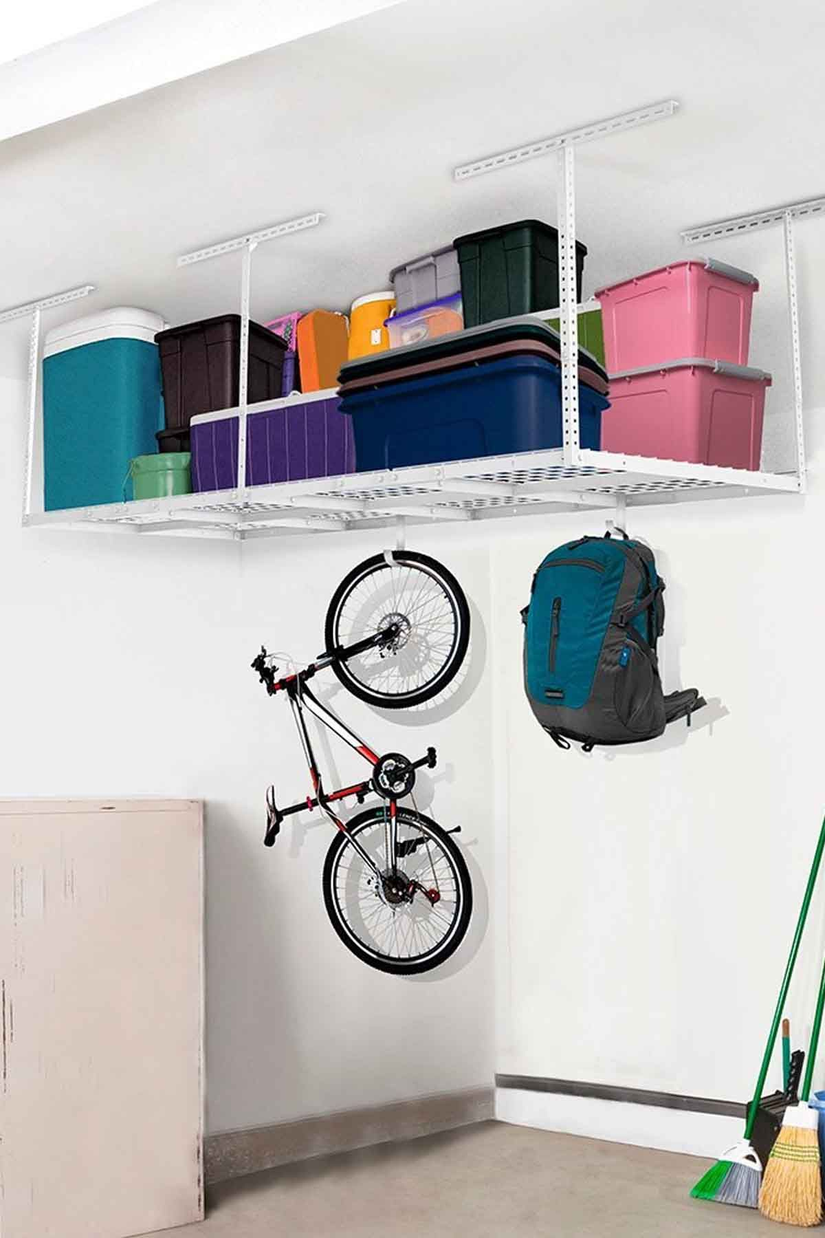 24 Simple Ways to Keep Your Garage Clean | Home Organization Ideas ...