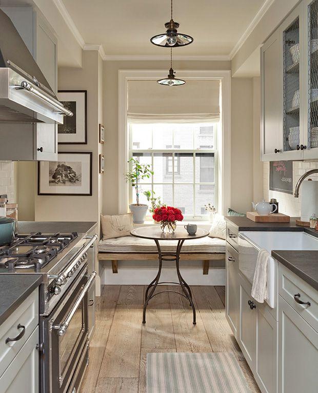 Narrow Country Kitchen: Decorating Profile: Interior Designer Jenny Wolf