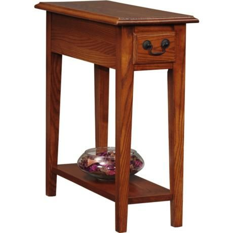 Favorite Finds 10 Wide Oak Wood Side Table K3056 Lamps Plus Chair Side Table Small End Tables End Tables With Drawers
