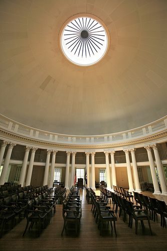 The Dome Room The Rotunda University Of Virginia Love And