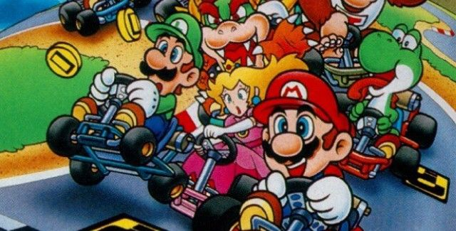 Classic Character Illustration Video Games Mario Kart