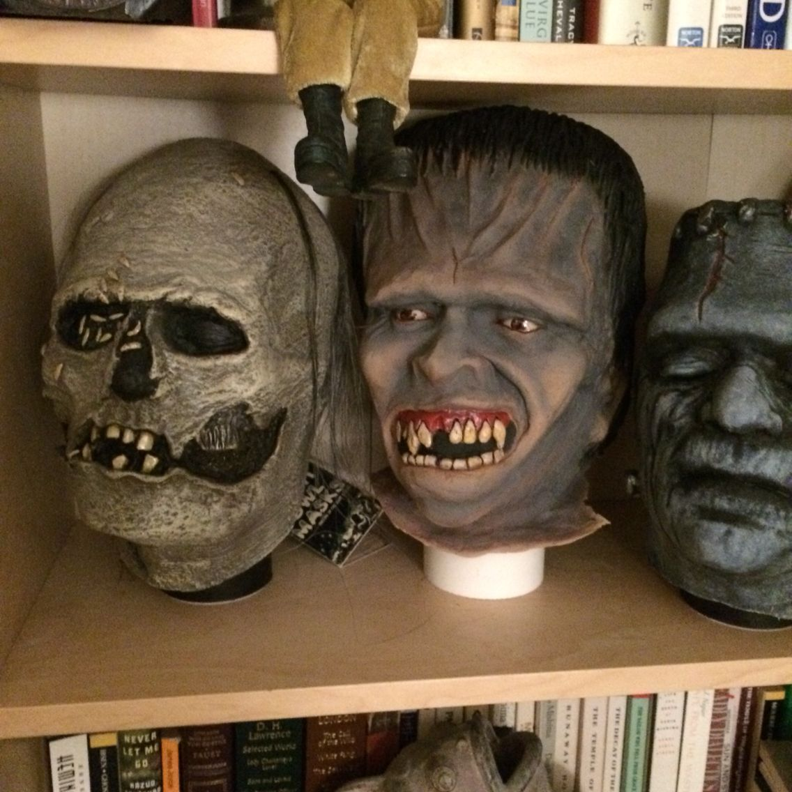 A look into the Crimson Ghost Mask Room, owned by Rudy Munis | My ...