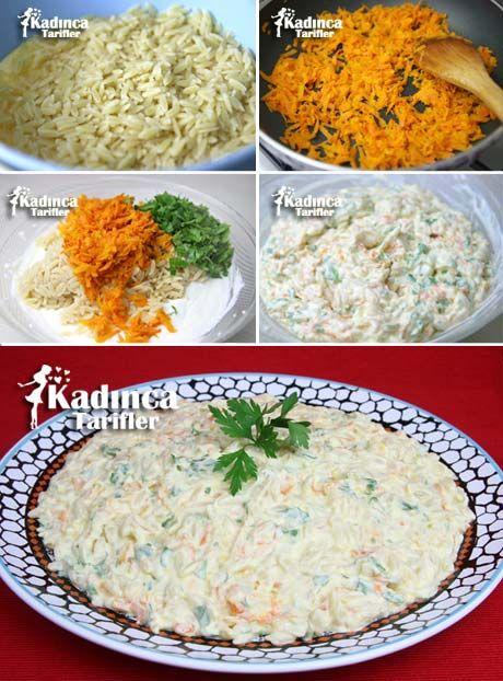 Yoğurtlu Şehriye Salatası Tarifi, Nasıl Yapılır