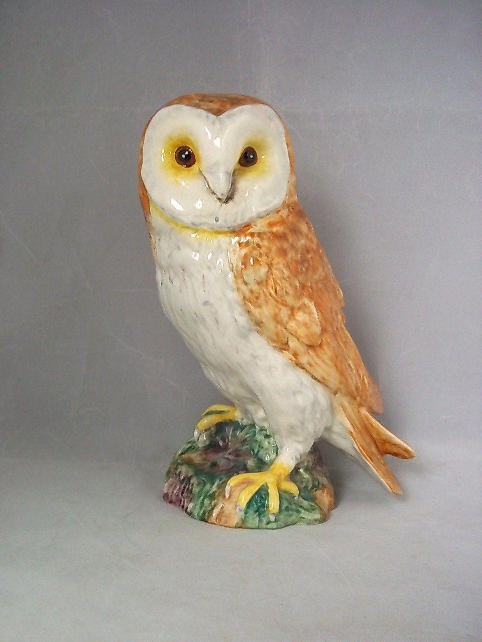 Beswick Pottery Model Of A Large Tawny Barn Owl Owl