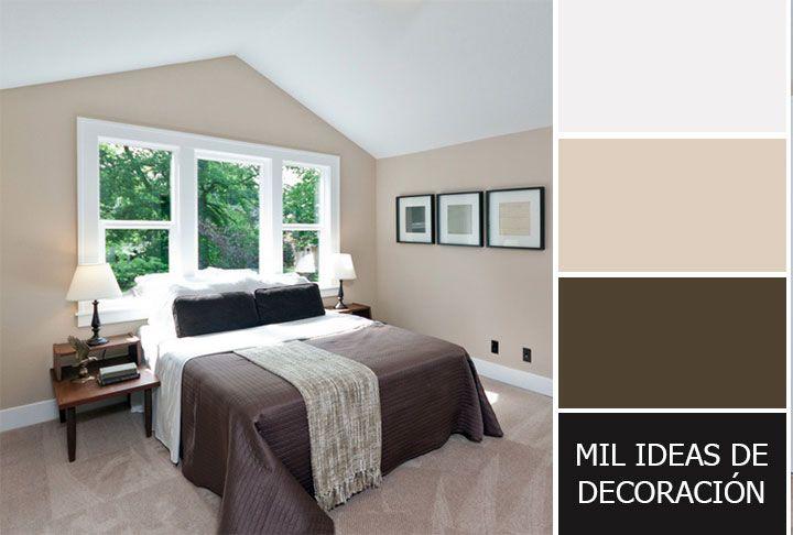 40 magníficas combinaciones de colores para pintar el dormitorio ...