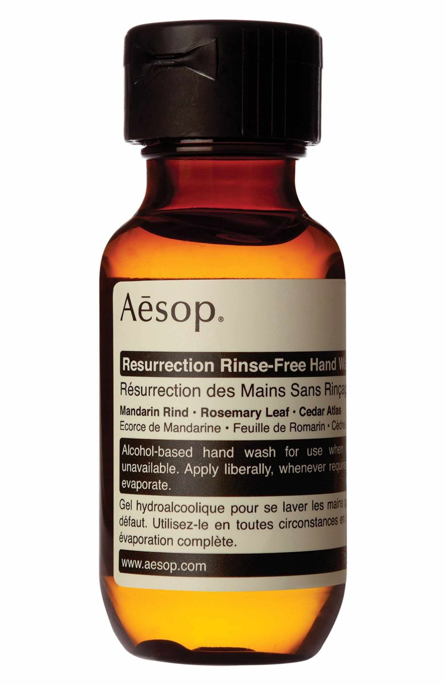 Aesop Resurrection Rinse Free Hand Wash Dry Hands Hand Washing