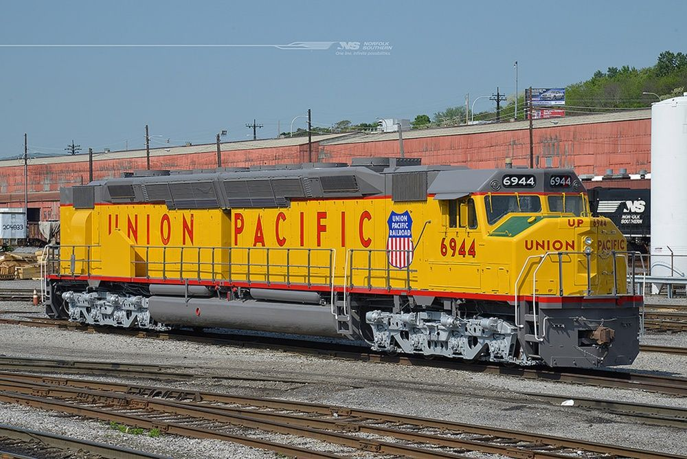 NS rolls out repainted UP Centennial | Trains Magazine | Union