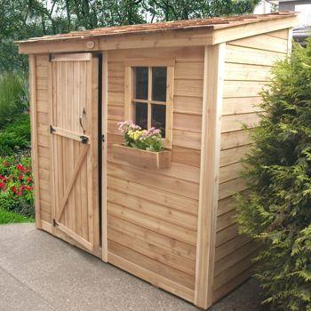 spacesaver 8 x 4 wood garden shed yard and garden stuff
