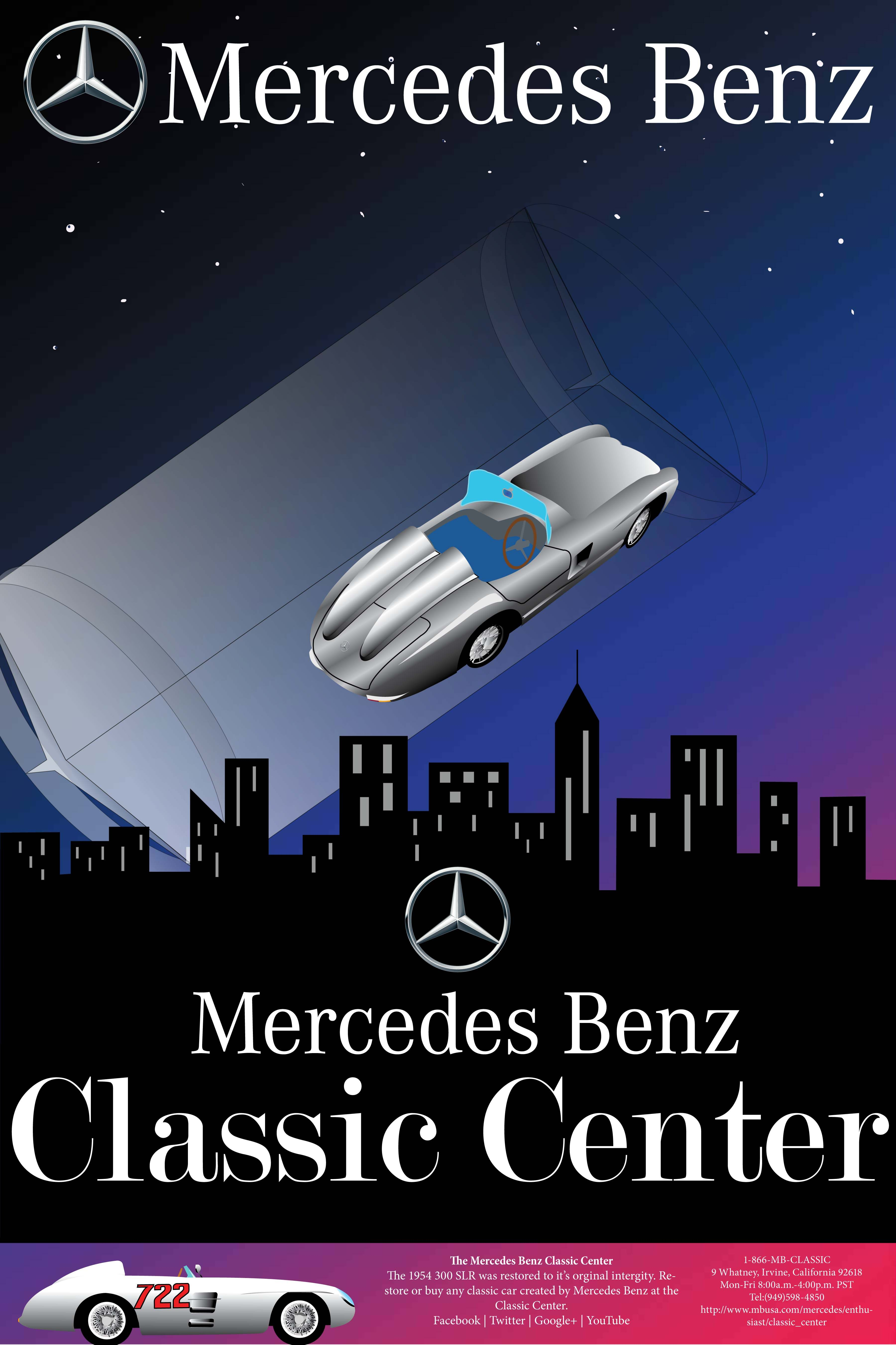 By stephen copyright 2012 chapman university all rights for Mercedes benz poster