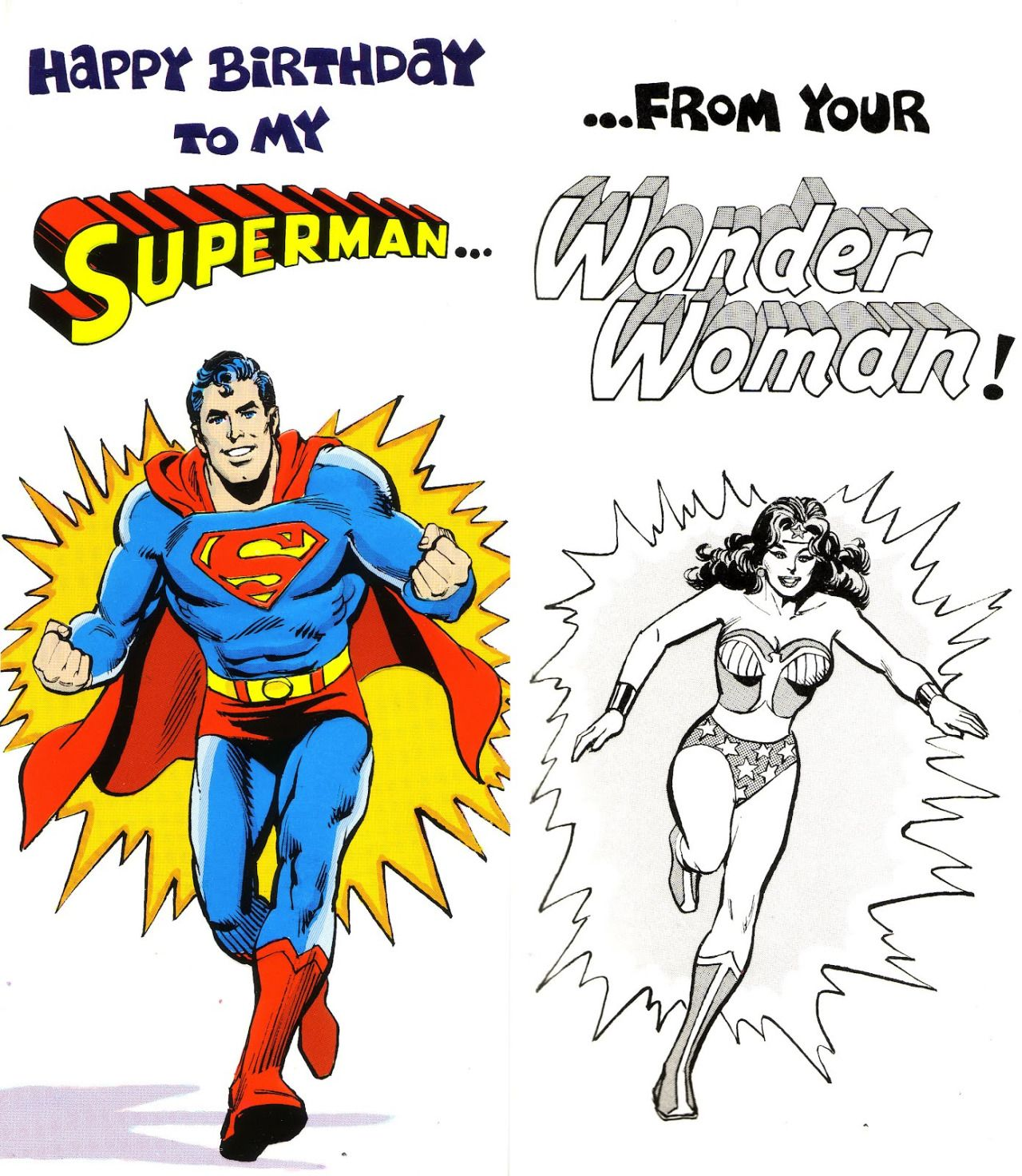 Happy Birthday Superman From Your Wonder Woman With Images