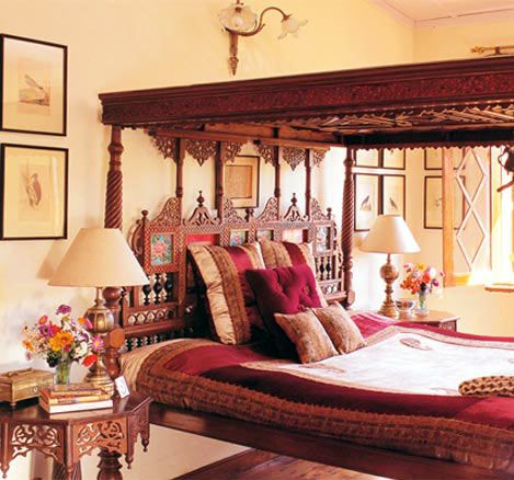 This Indian inspired decor would make a beautiful guest bedroom ...