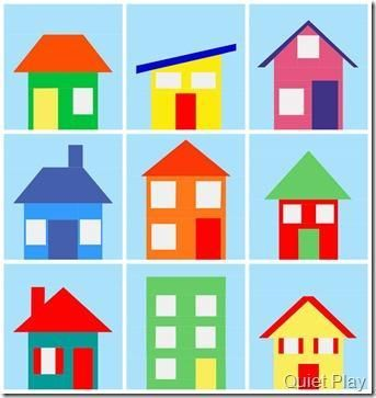House Quilt Patterns: 5 Homey Designs to Try | House quilts ... : quilt house patterns - Adamdwight.com