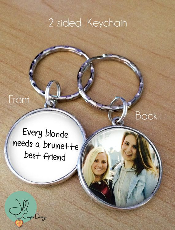 BEST FRIENDS GIFT Every blonde needs a brunette best friend Your