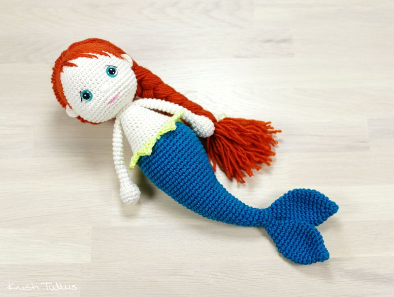 Free Amigurumi Mermaid Patterns : Amigurumi mermaid pattern kristi tullus spire ee amoola