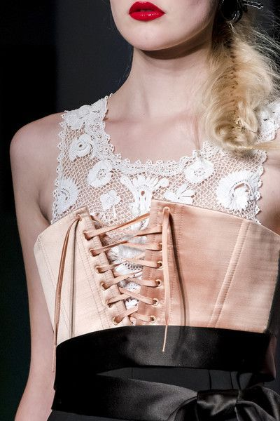 Jean Paul Gaultier Couture, Spring 2017 #runwaydetails