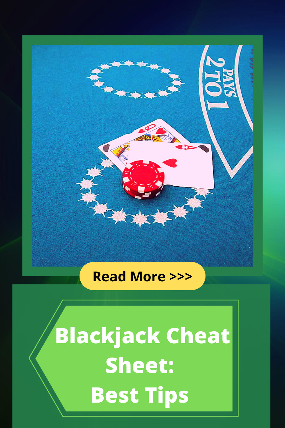 Blackjack Cheat Sheet and How to Use It