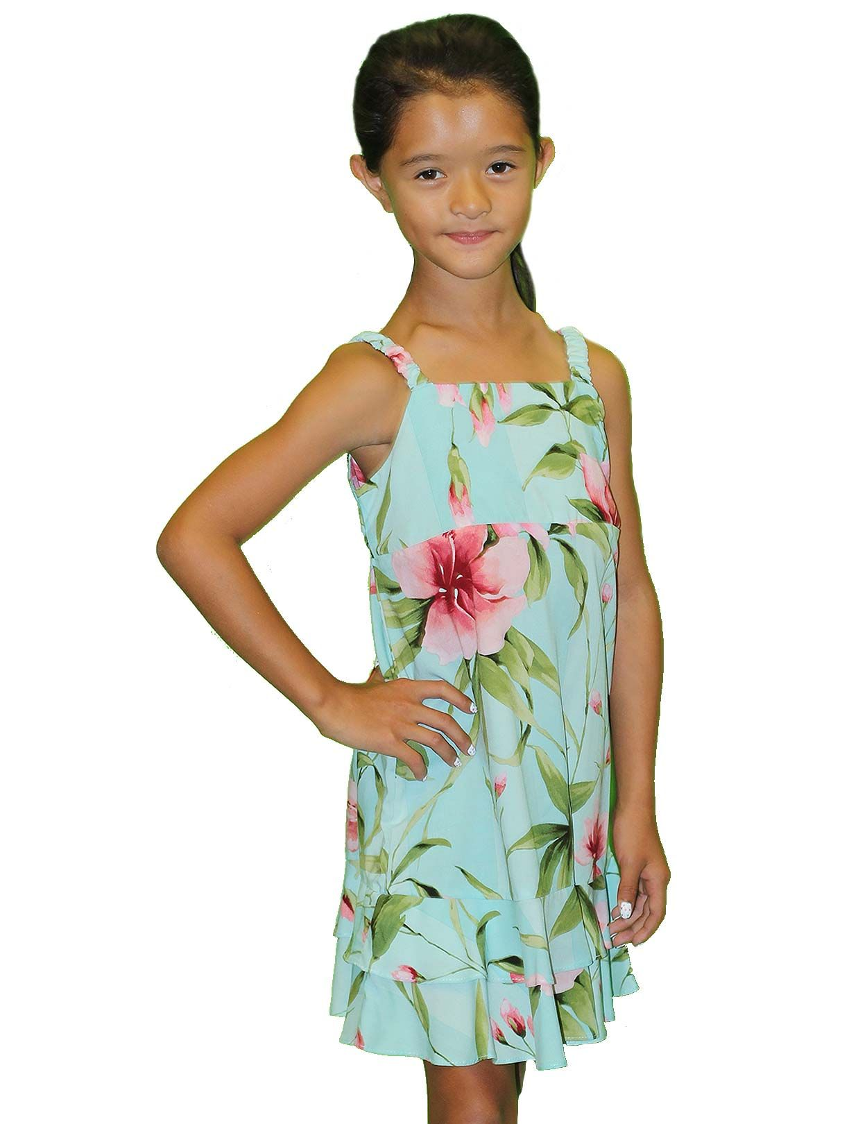 a363d0ca0a6 Check out the deal on Floral Hibiscus Girl s Hawaiian Dresses at Shaka Time  Hawaii Clothing Store FREE SHIPPING  hawaiiandresses  dresses  girlswear ...