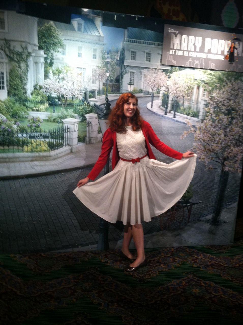 Mary Poppins Dress Jolly Holiday Disneybound Mary Poppins Costume