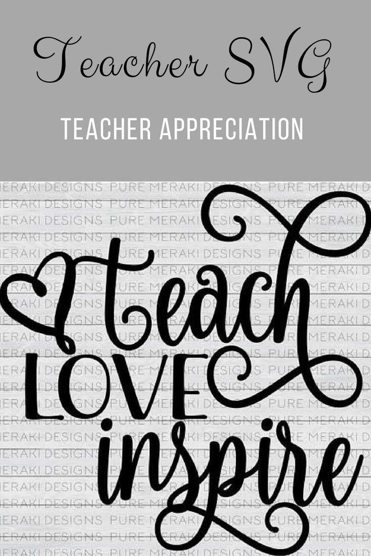 Teacher SVG for teacher appreciation! ad Affiliate
