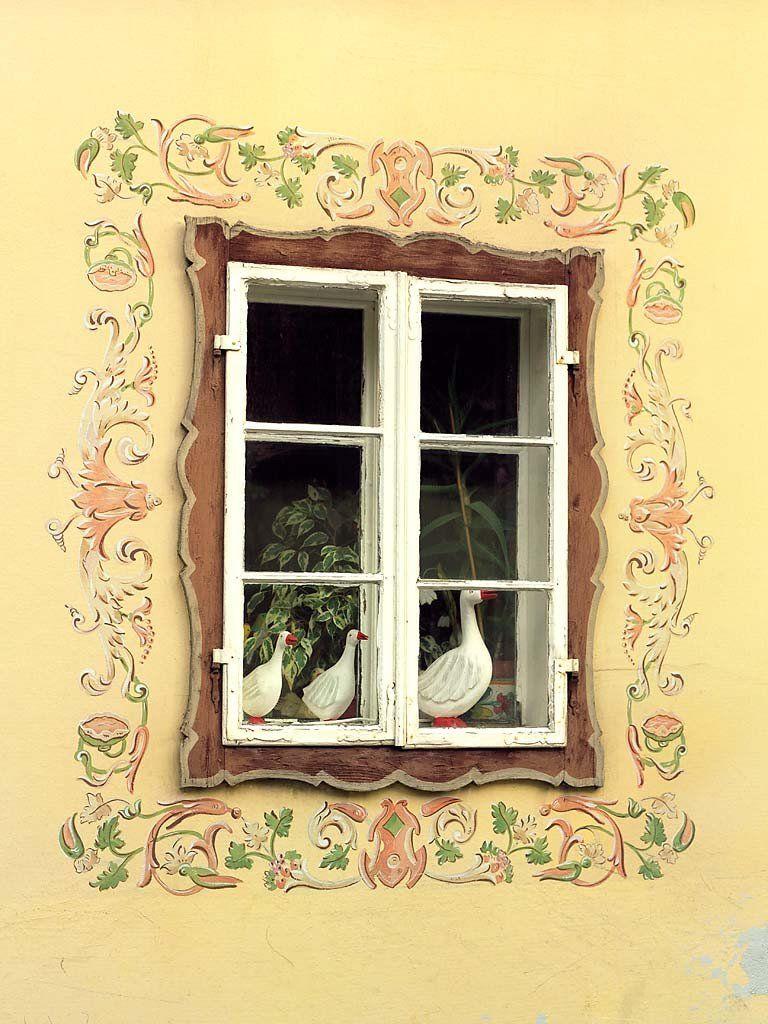 Three Geese-Hallstat, Austria | three & company | Pinterest | Window ...