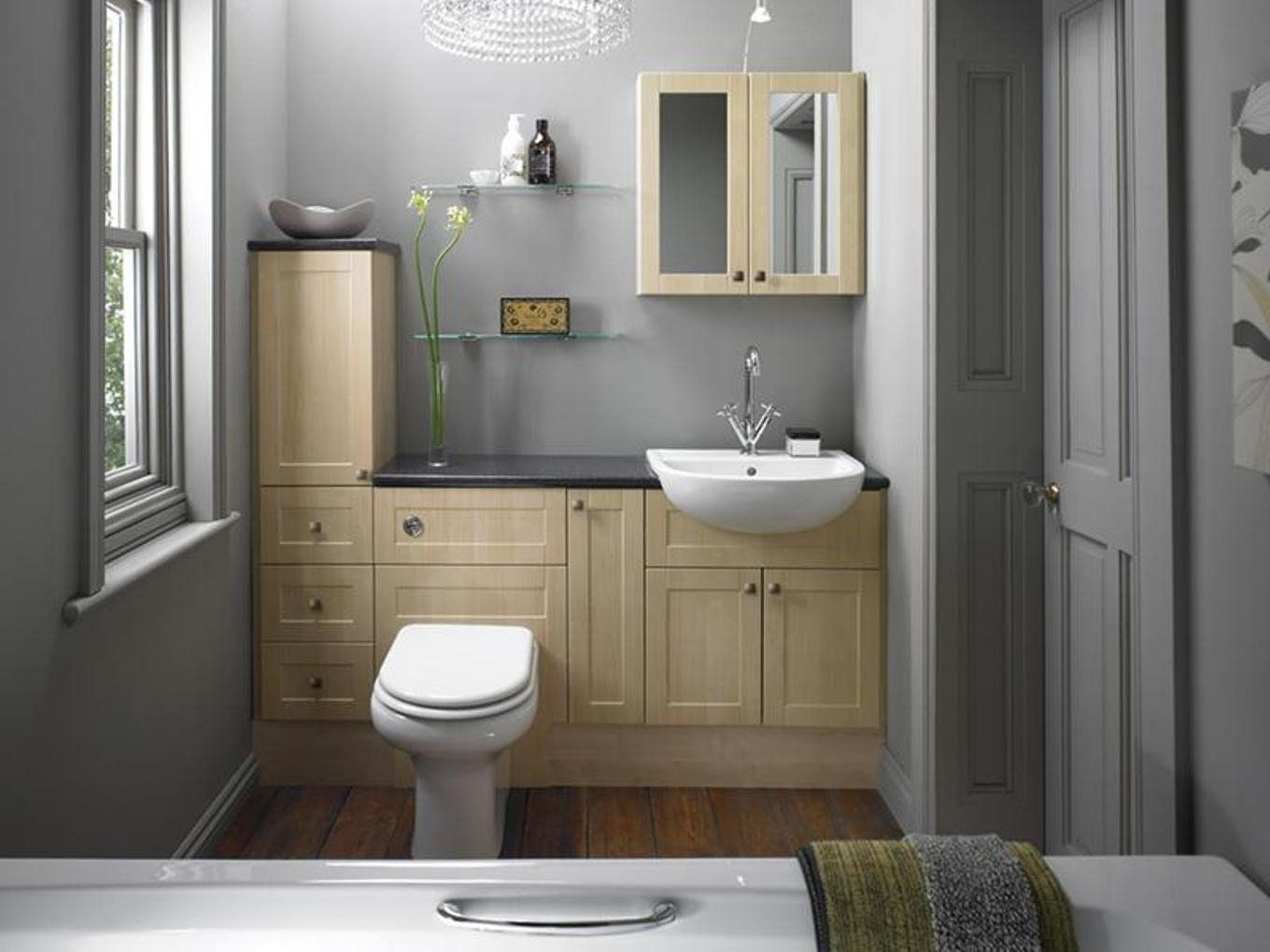 Bathroom Narrow Depth Bathroom Vanity Cabinet With 12 Inch Deep