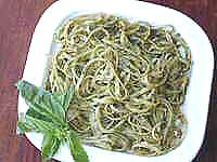 Hubbys favorite - PESTO SAUCE WITH BASIL AND PINE NUTS RECIPE - CLASSIC