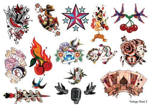 b761f2fdf8c91 vintage tattoos | Ink | Tattoos, Temporary tattoo, Cherry tattoos
