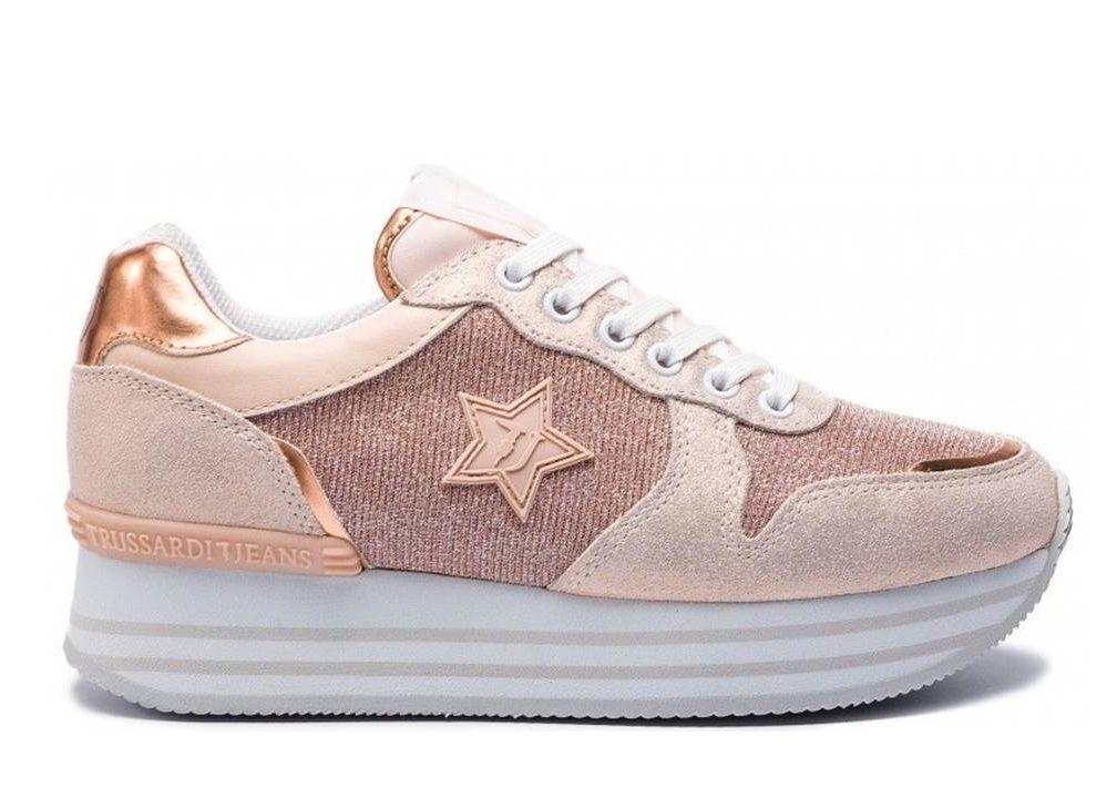 scarpe da donna sportive trussardi