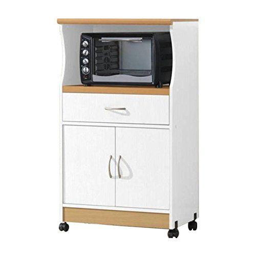 Kitchen Cabinets Ideas Microwave Cart With Storage Doors Drawer Kitchen Rolling Portable Cabinet Wood Unit White Continue To Th Muebles Hogar Muebles Hogar